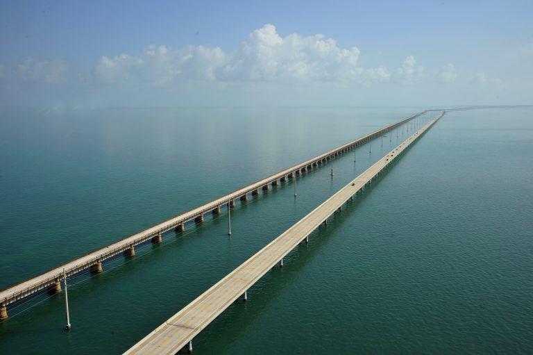 Florida Keys, Florida (via U.S. Route 1)