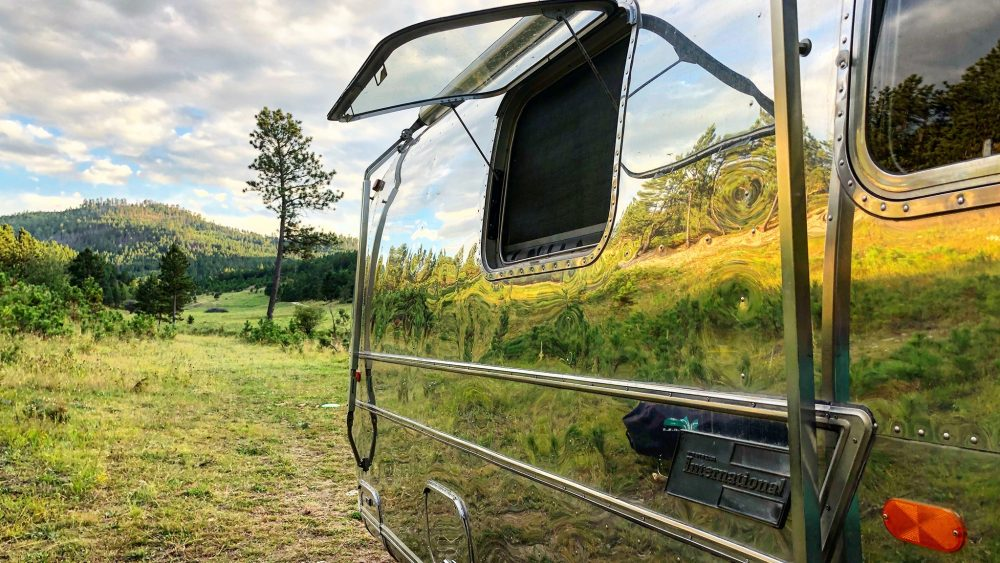Airstream Leave It Beautiful reflection