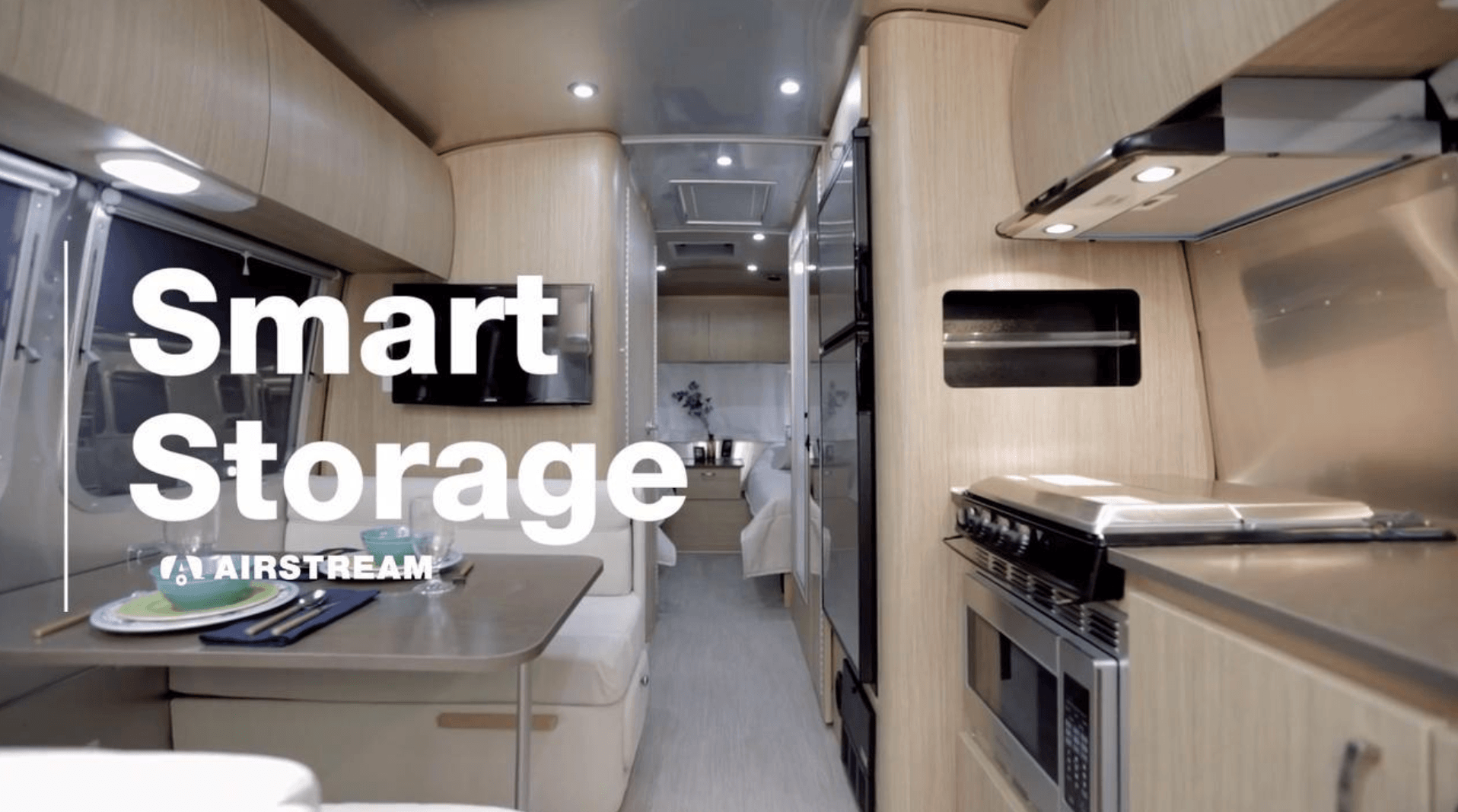 Airstream Travel Trailers A Place For Everything You Need
