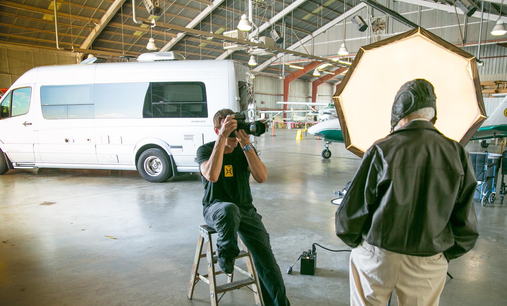 Paul Taking Photograph