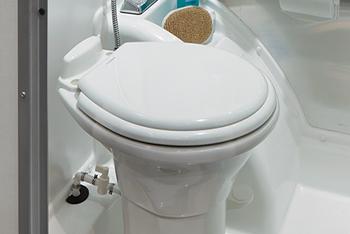 Airstream Basecamp Wet Bath Toilet