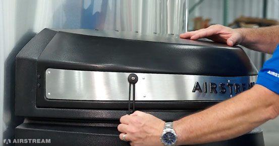 Airstream Basecamp LP Tank Lid Fastener
