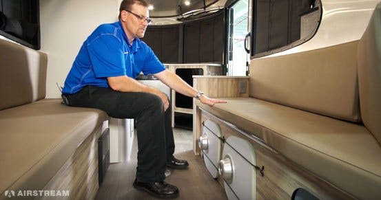 Airstream Basecamp Storage Compartments