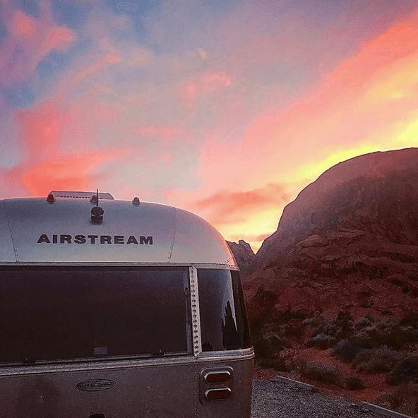 Brian Ward Airstreamer Sunset