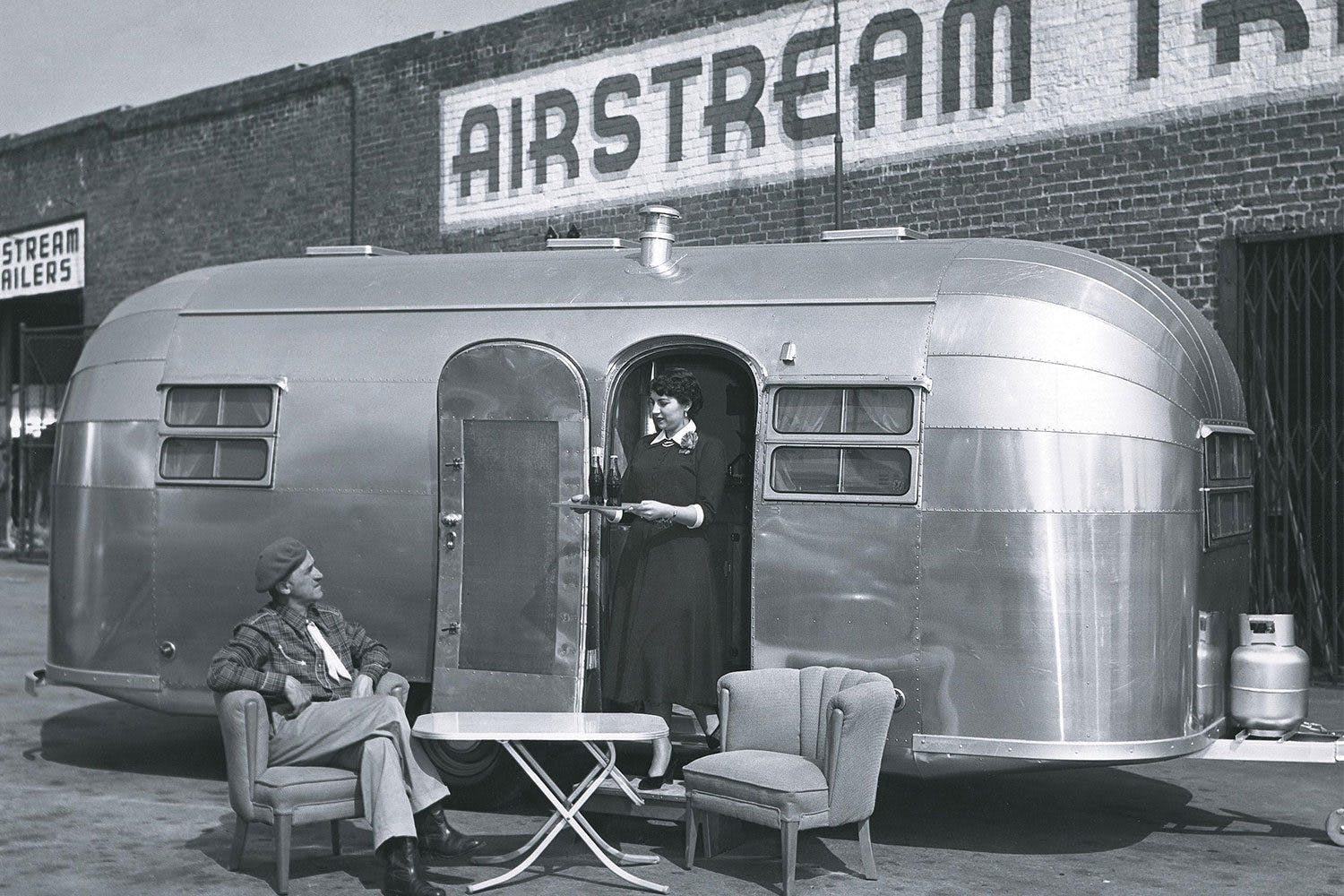 Modern and Timeless. Wally, Stella, and Trailer