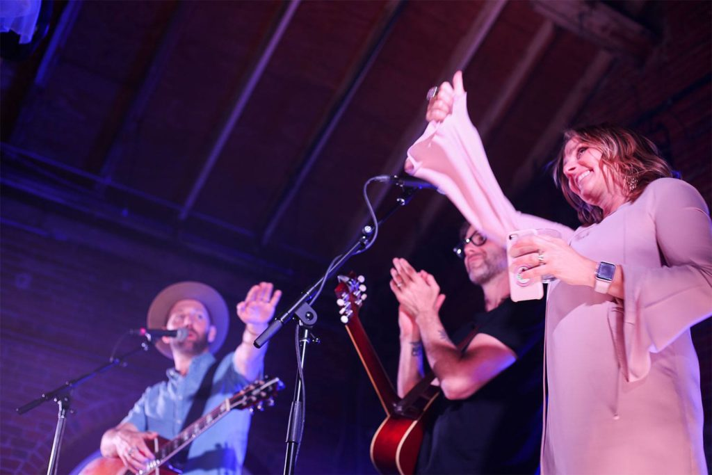 Mat Kearney Sam's Fans Airstream Concert