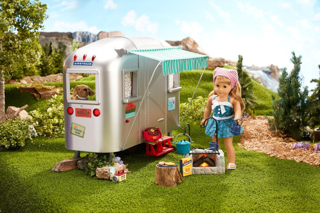 American Girl and Airstream