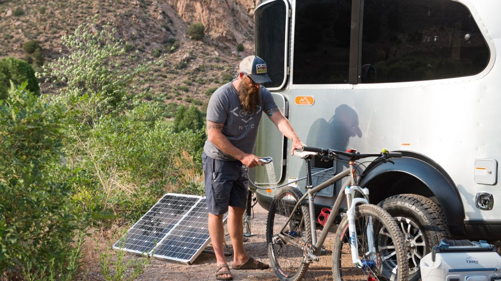 Airstream-Baseamp-X-Exterior-Shower-Mountain-Bike