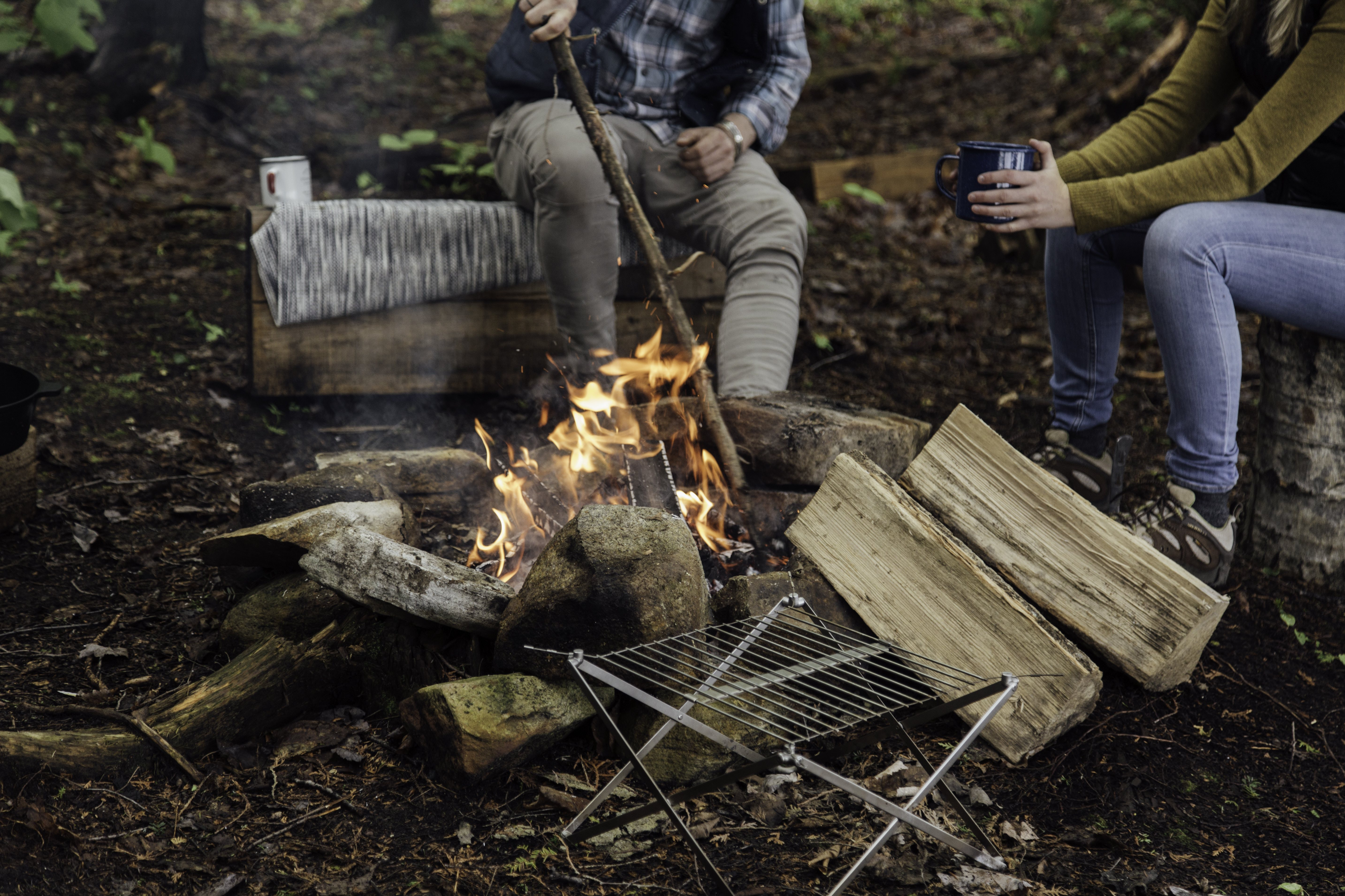 A-List: Wolf & Grizzly Portable Grill
