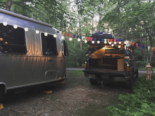Work from anywhere in an airstream