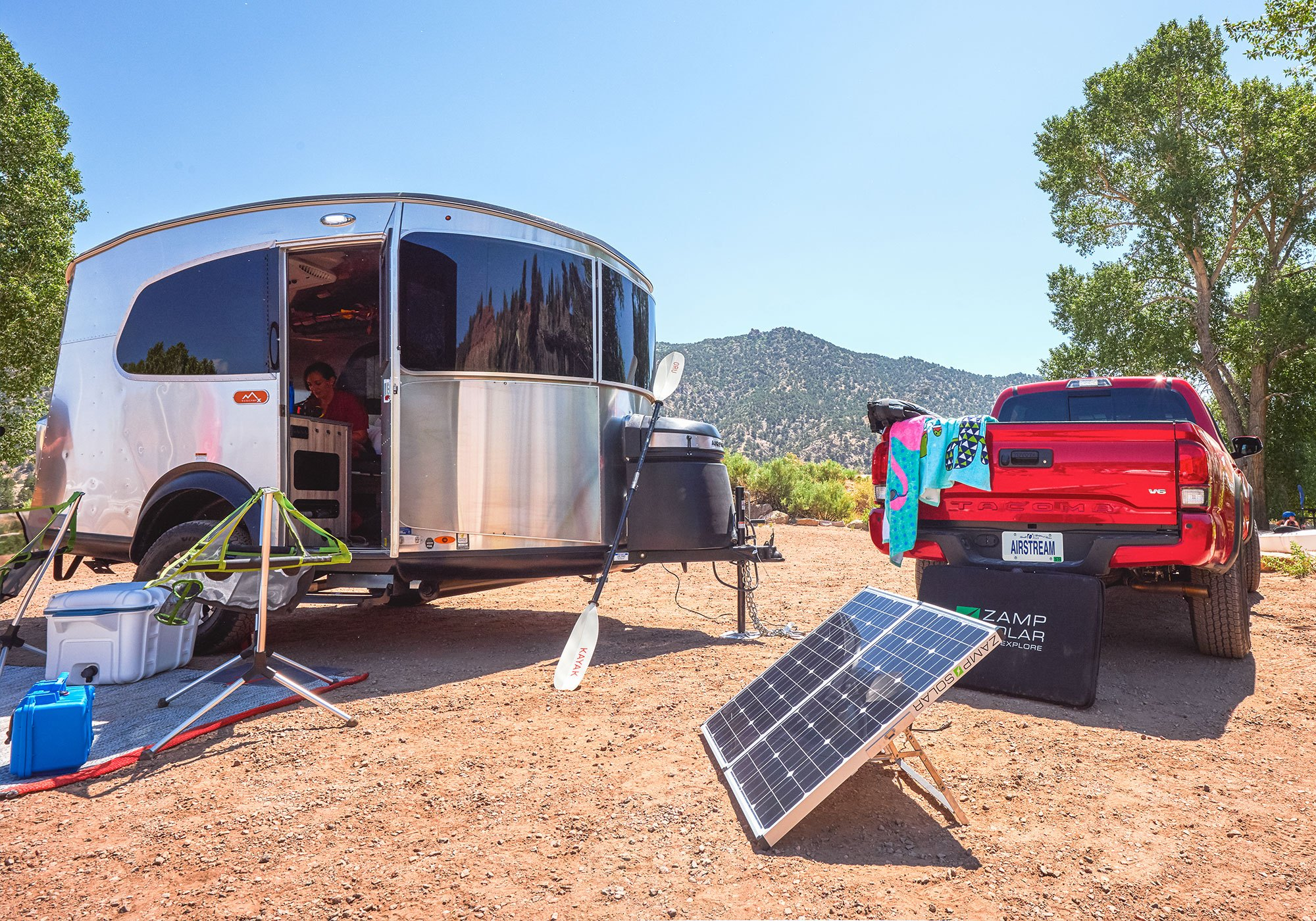 Partners In Craftsmanship Airstream Zamp Solar Airstream
