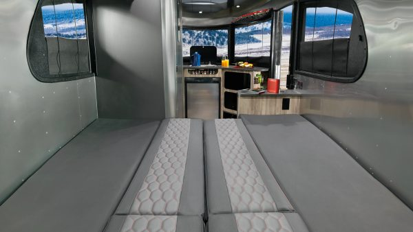 Airstream Basecamp Full Bed