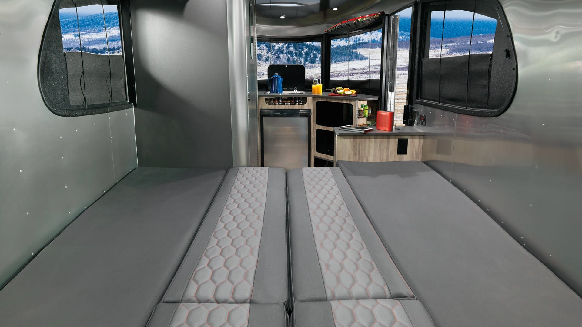 Airstream Basecamp Full Bed