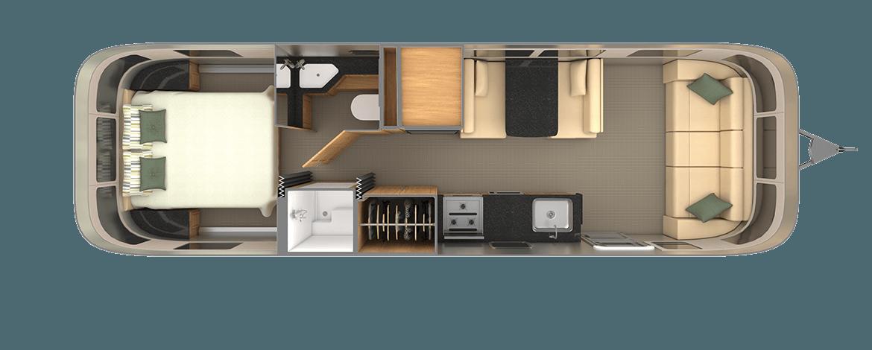 Classic 30RB Floor Plan | Travel