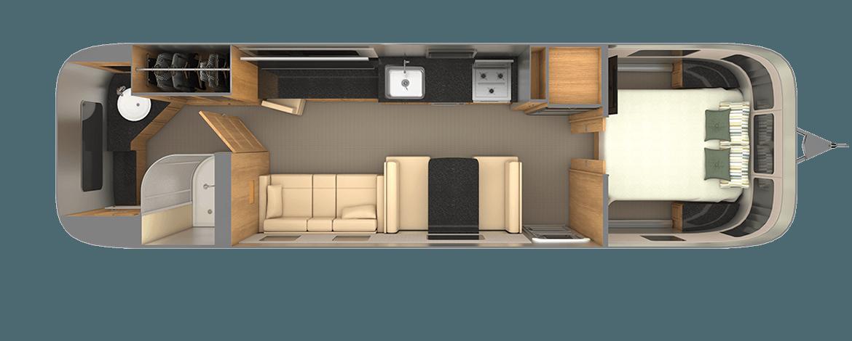 Classic 33FB Floor Plan | Travel