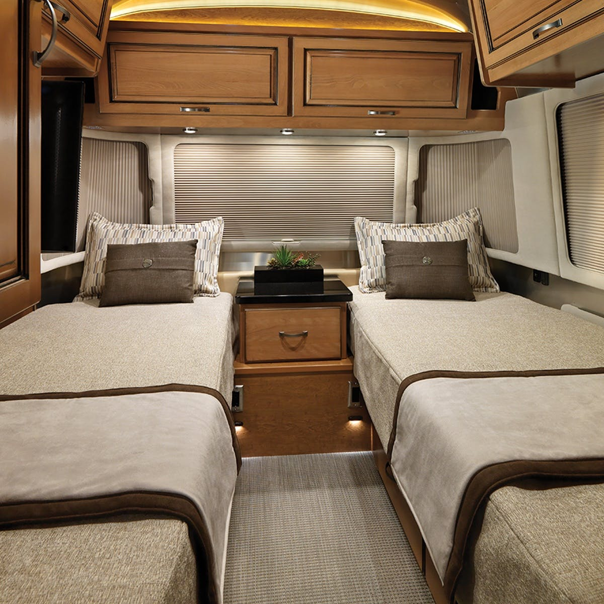 33fb Twin Floor Plan Travel Trailers Airstream