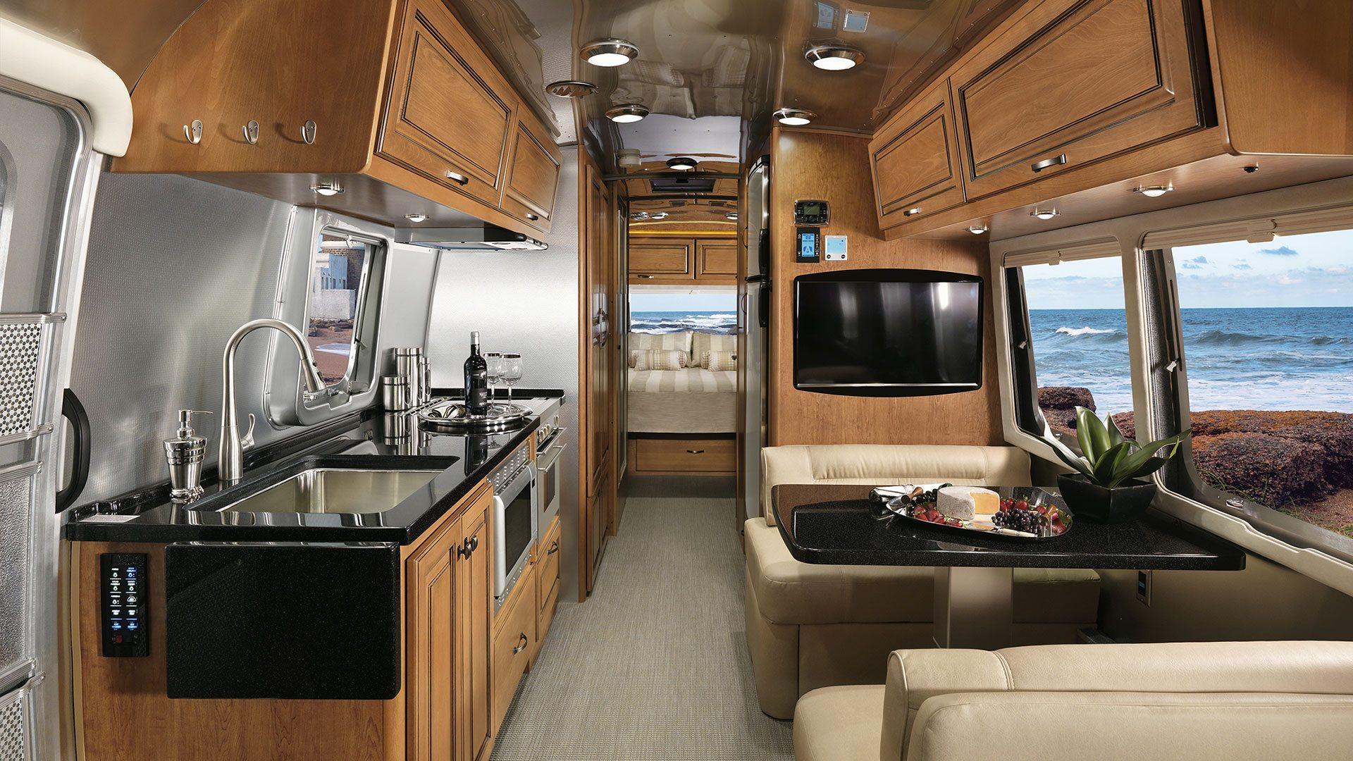 Airstream Travel Trailer >> Floor Plans Classic Travel Trailers Airstream