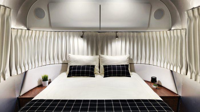 Airstream Globetrotter Bedroom Queen Bed
