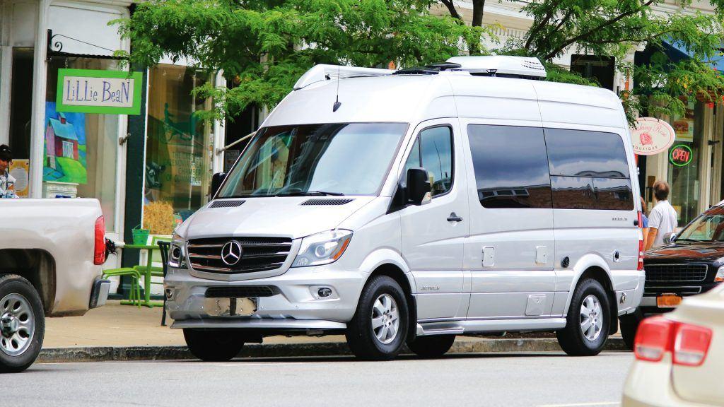 Airstream Interstate Nineteen Mercedes Benz Parking Spot