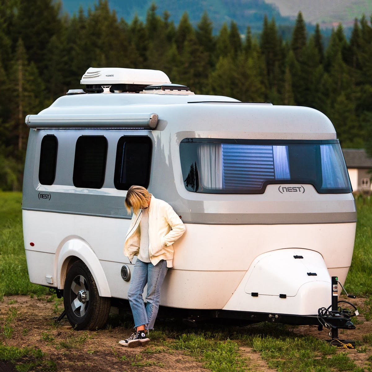 Nest by Airstream laura austin clean simple modern nature travel