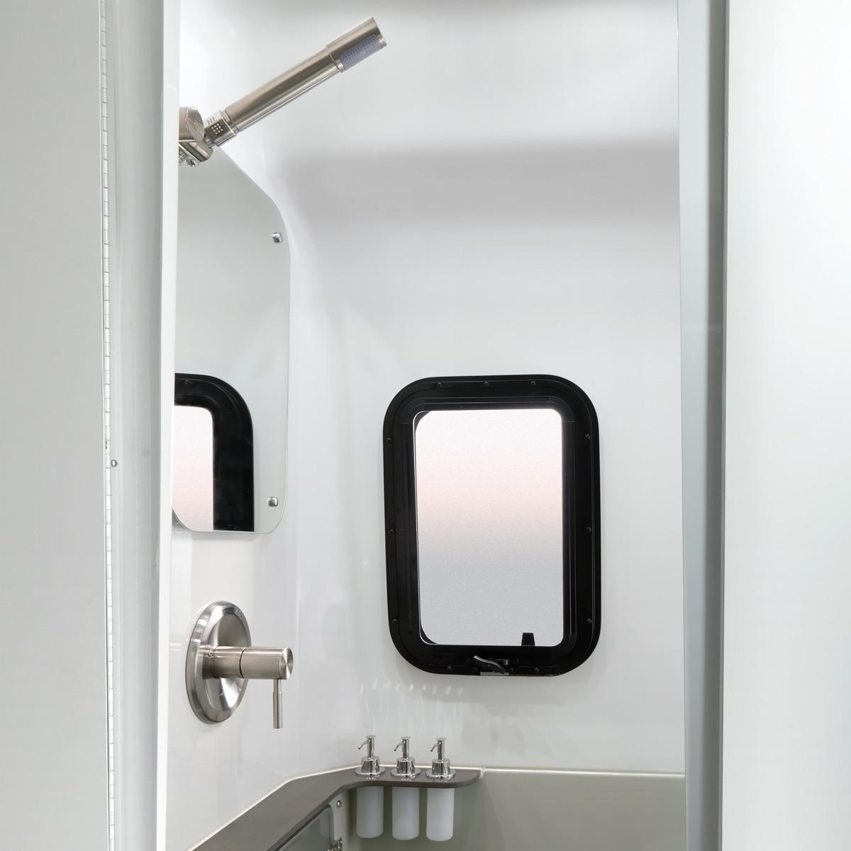 Airstream Travel Trailer rest room