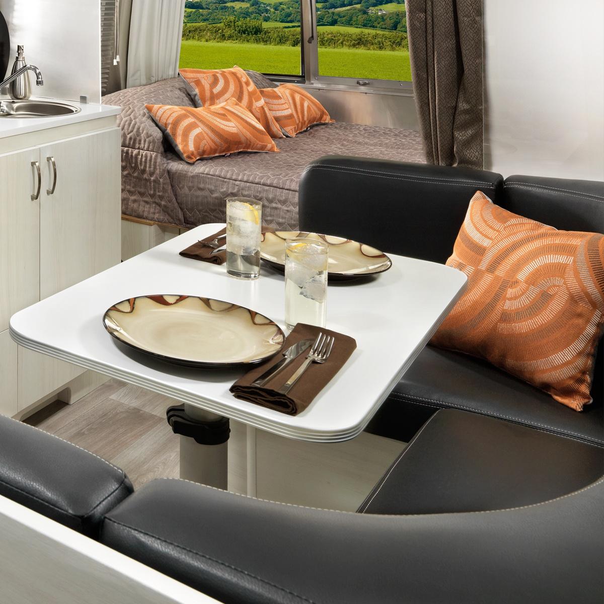 Sport 22fb Floor Plan Travel Trailers Airstream