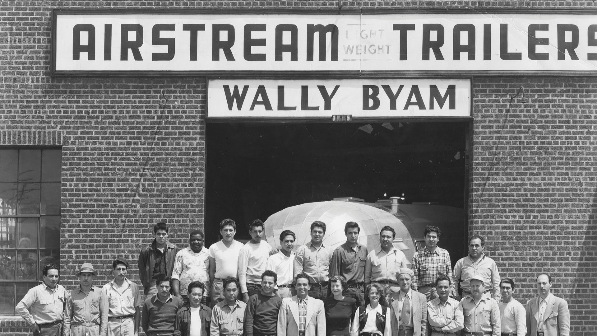 Wally-Byam-Airstream-history-1905s-california-factory
