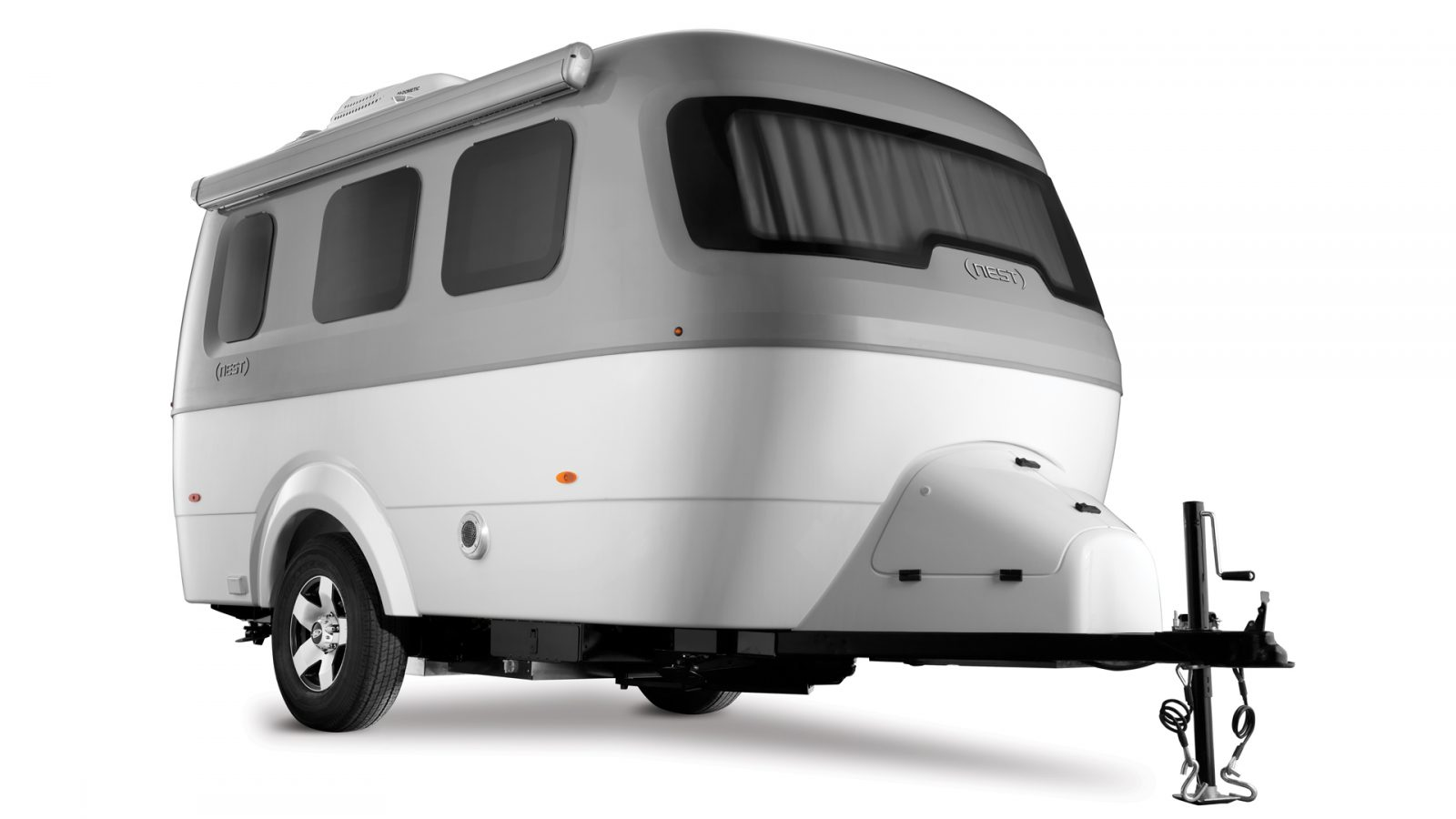 Nest by Airstream small light travel trailer new modern