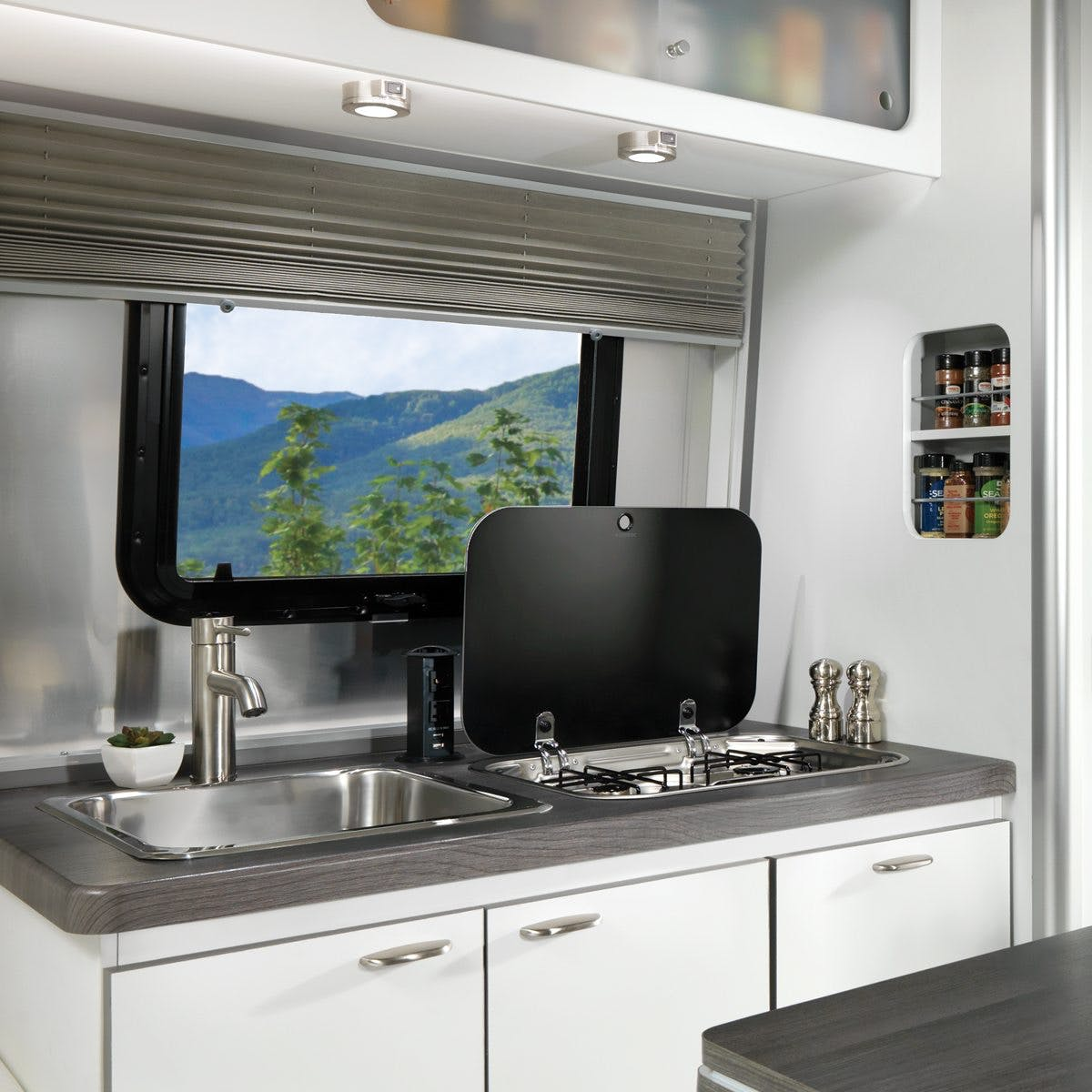 Nest by Airstream kitchen sink