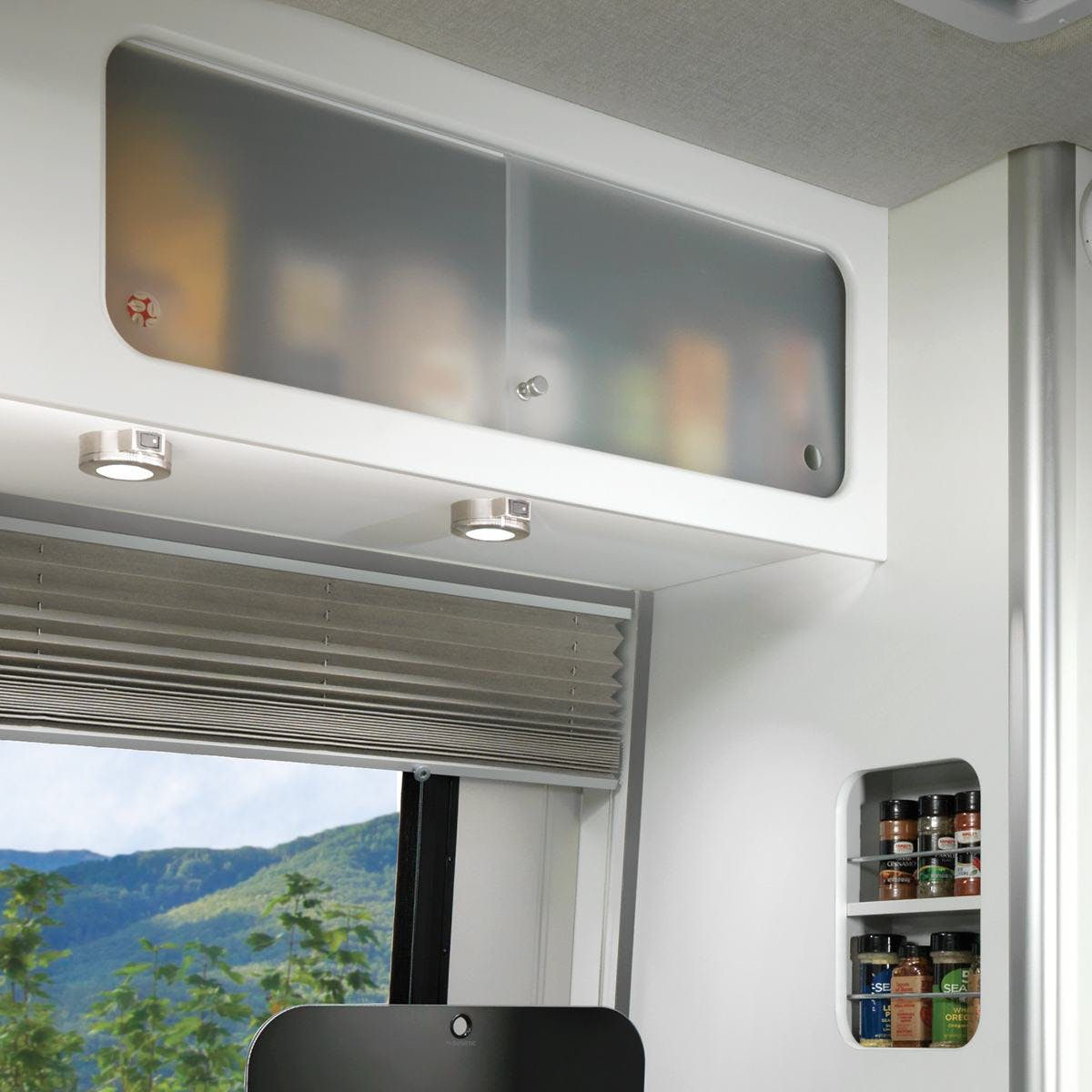 Nest by Airstream interior high storage cabinet