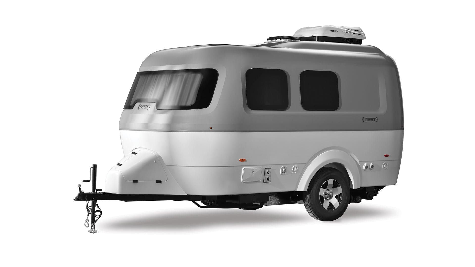 Nest by Airstream exterior fiberglass shell