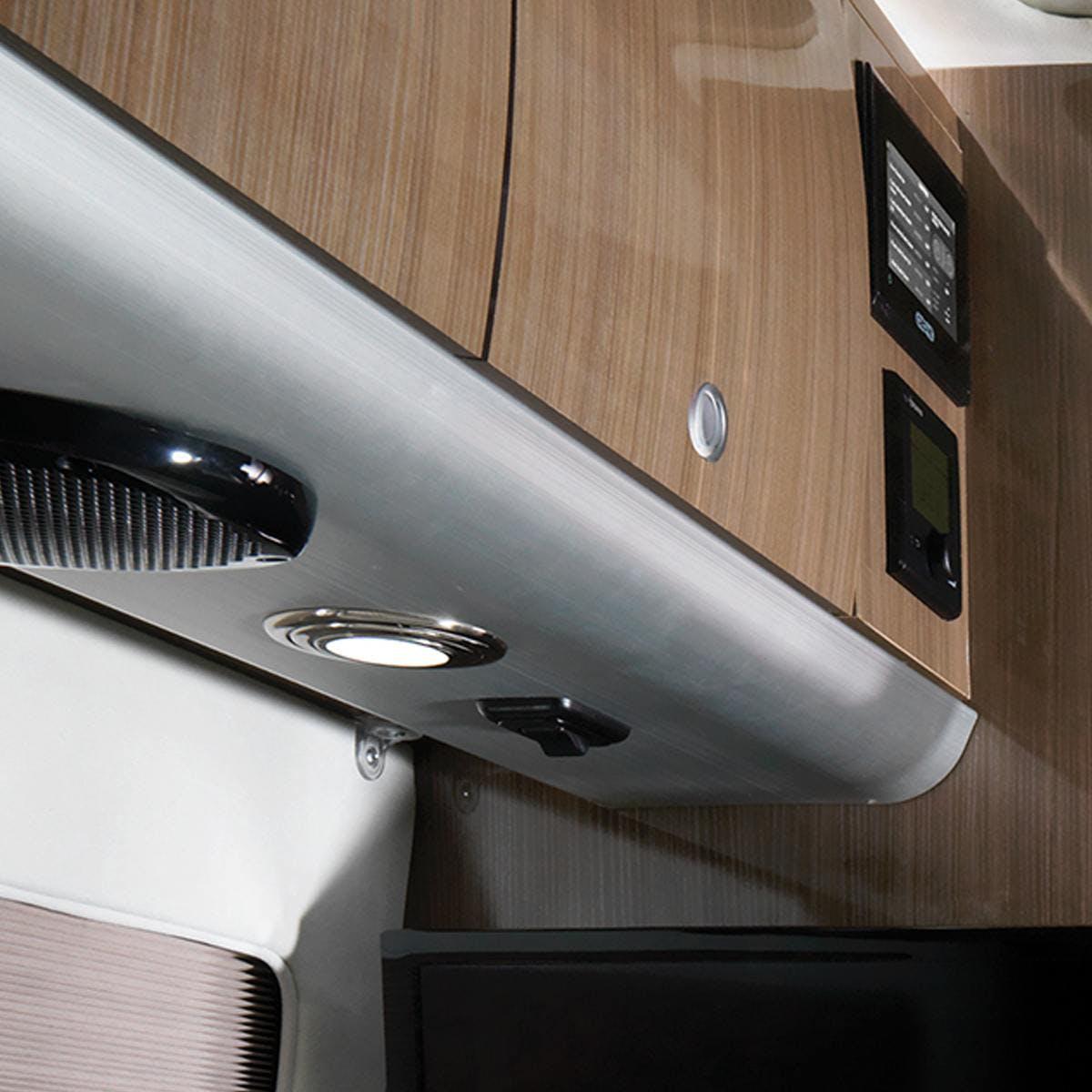 Airstream Interstate Nineteen Mercedes Benz cabinets storage lights speaker