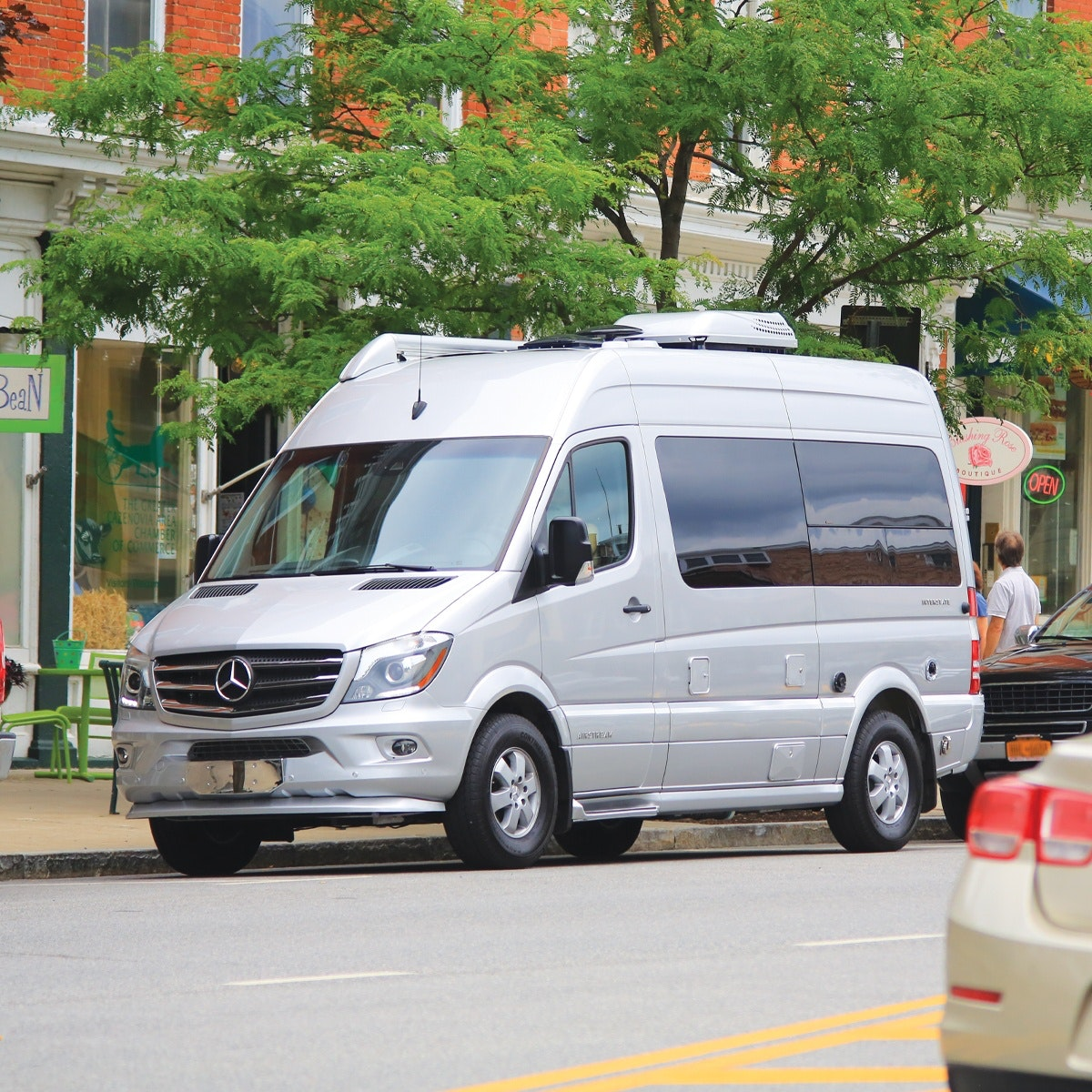 Touring Coaches | Class B and C Luxury Mercedes RVs | Airstream