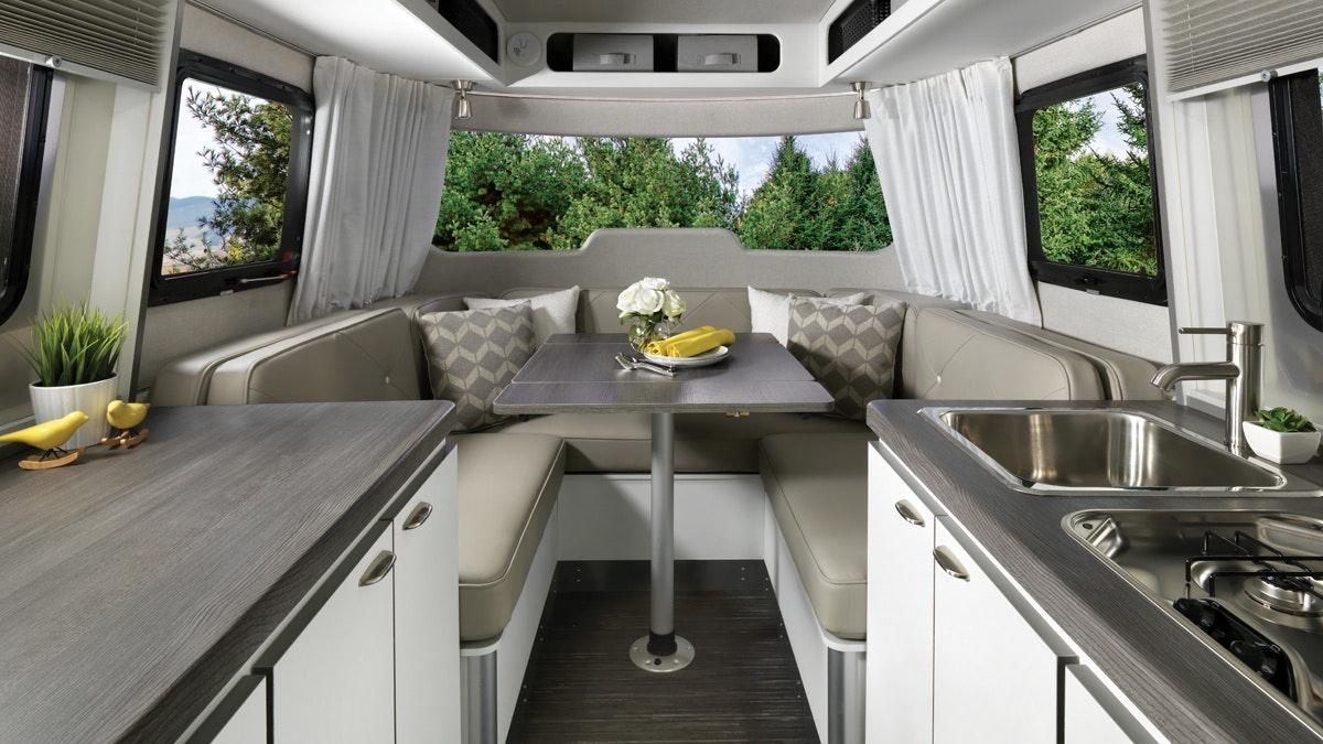 Features | Nest | Travel Trailers | Airstream Fiberglass