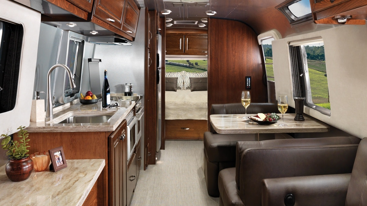 Specifications   Classic   Travel Trailer   Airstream