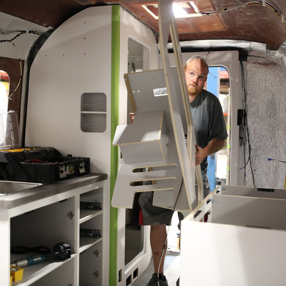 Nest by airstream hand built quality fiberglass