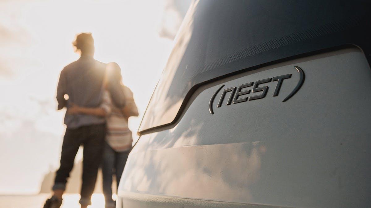 Nest Airstream Quality sunshine badge exterior window