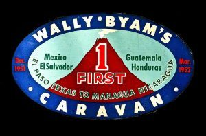 Wally Byam Caravan 1st sticker