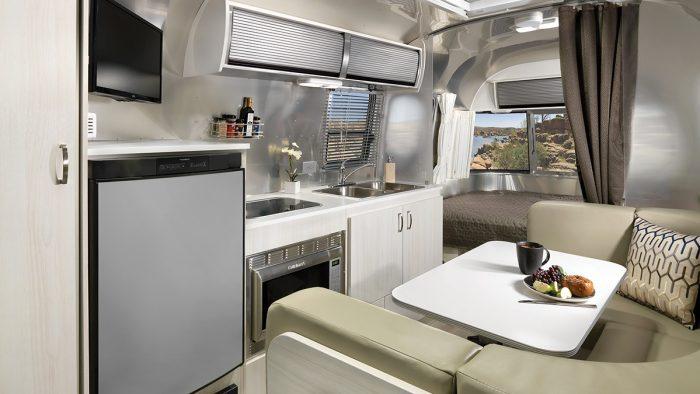 Airstream Sport 22 Interior Kitchen