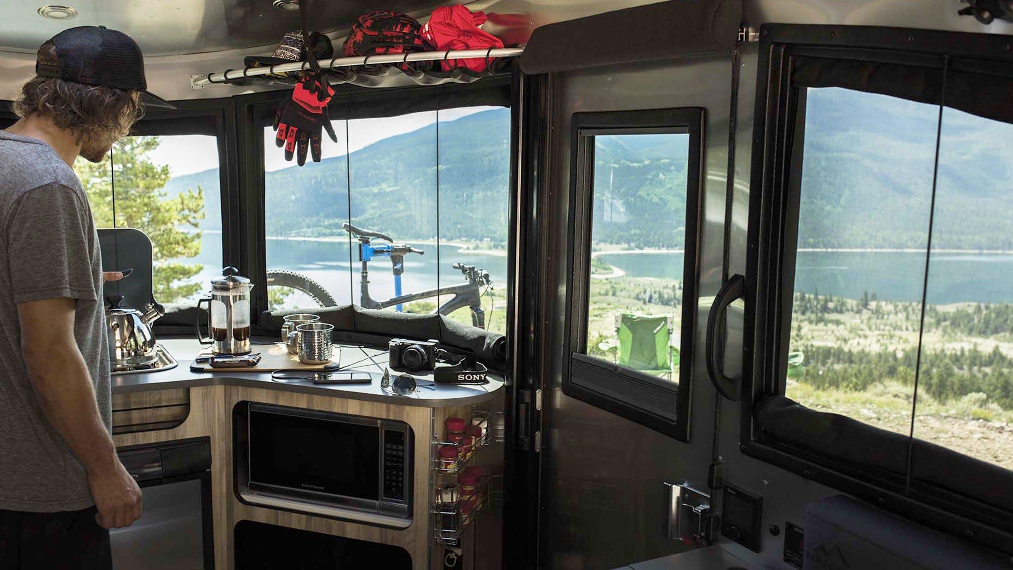Airstream Basecamp Truma Combi