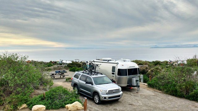 Airstream Camping Locations Crystal Cove State Park