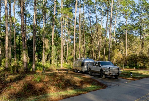 Airstream Ocean Pond Camping