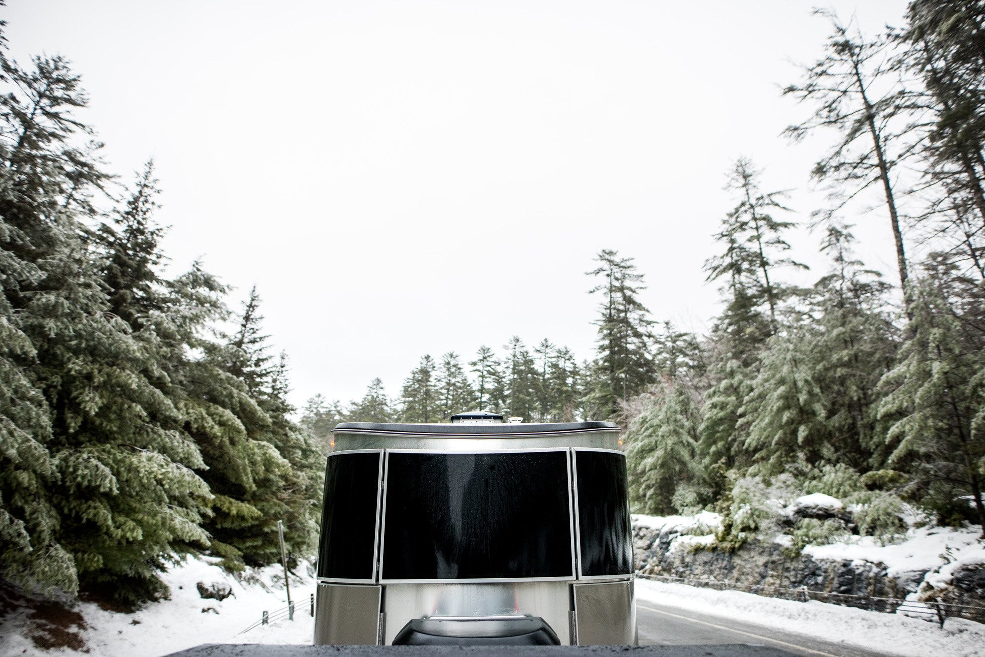 Airstream Basecamp Front Windows