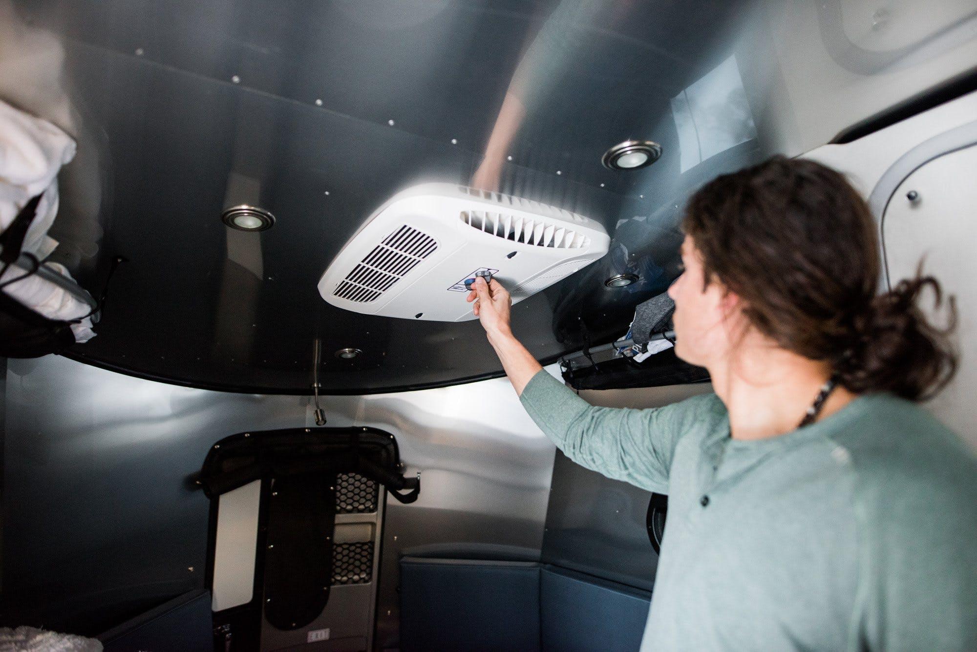 Airstream Basecamp Refrigerator Control
