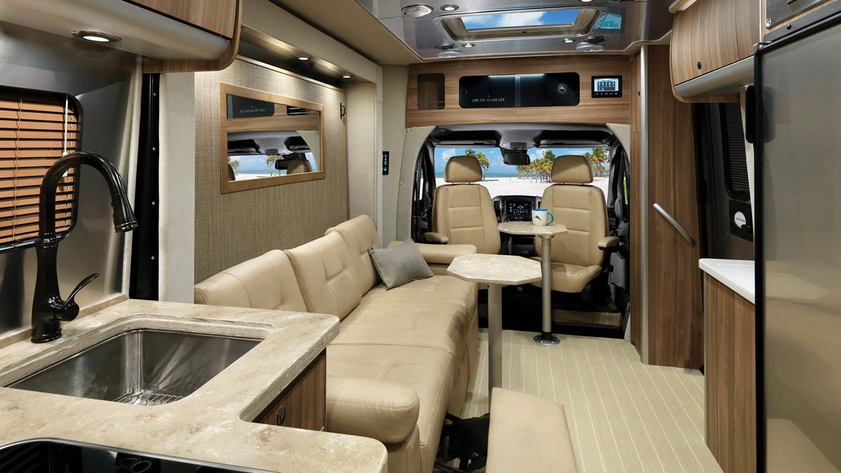 Airstream Tommy Bahama Interior Photo