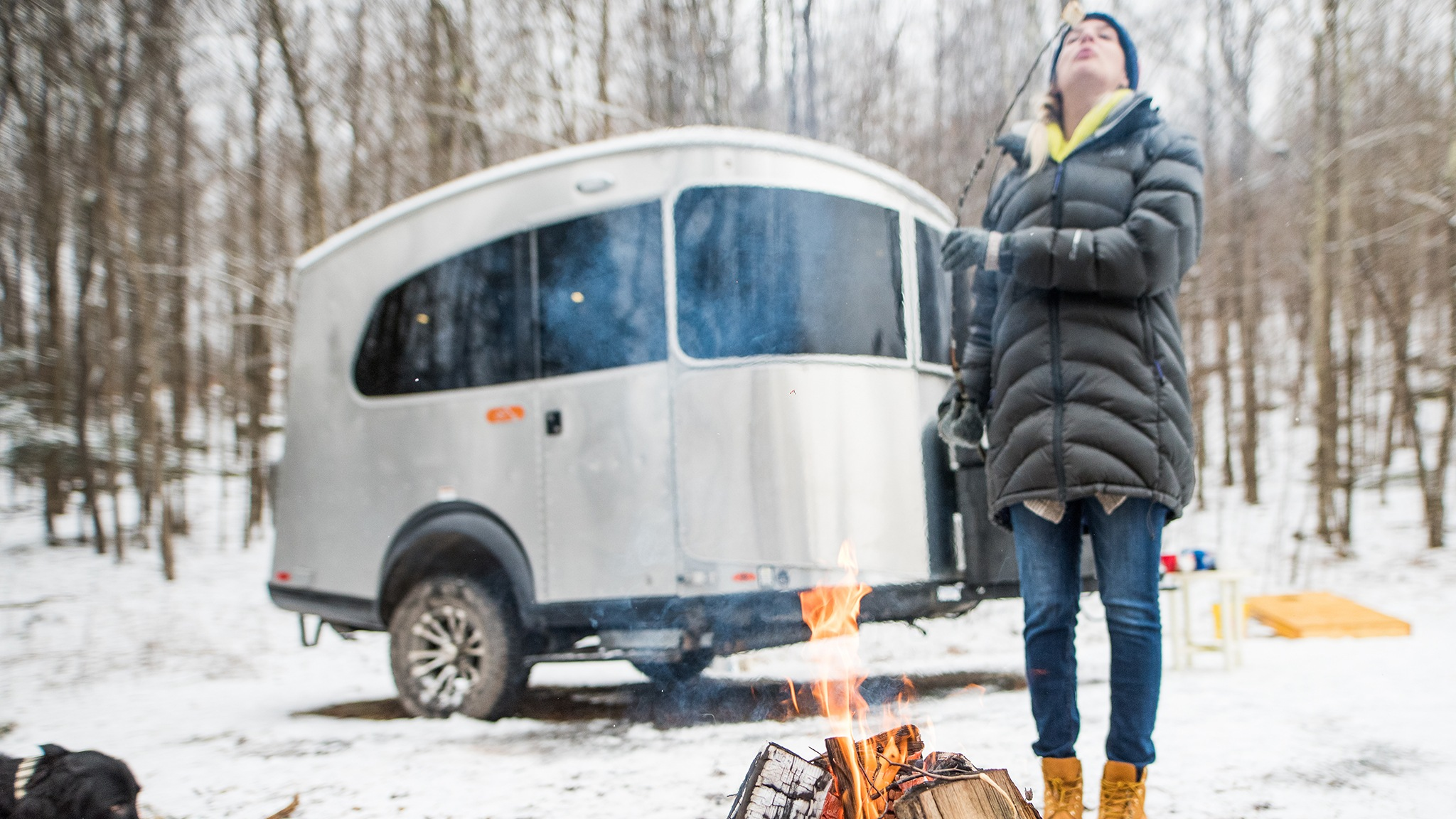 The perfect winter Basecamp