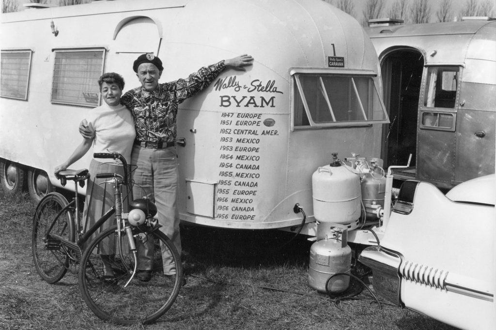 Airstream Wally Byam and Stella