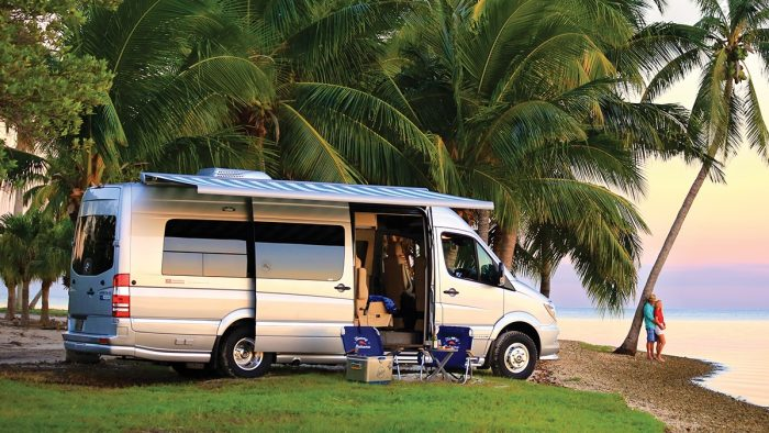 Airstream and Tommy Bahama Touring Coach Luxury Beach House