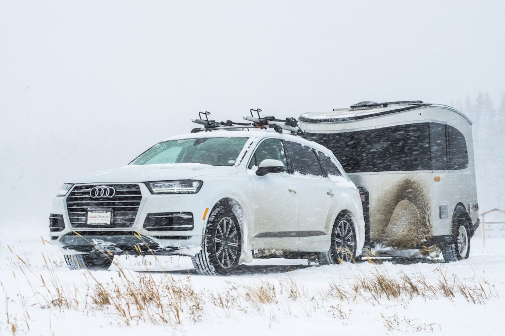 Basecamp in the Snow