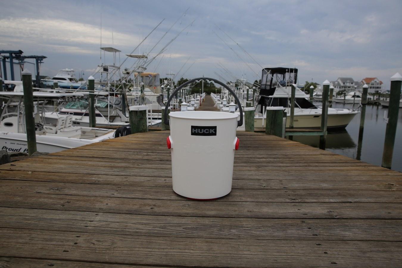 Huck Bucket - On Dock